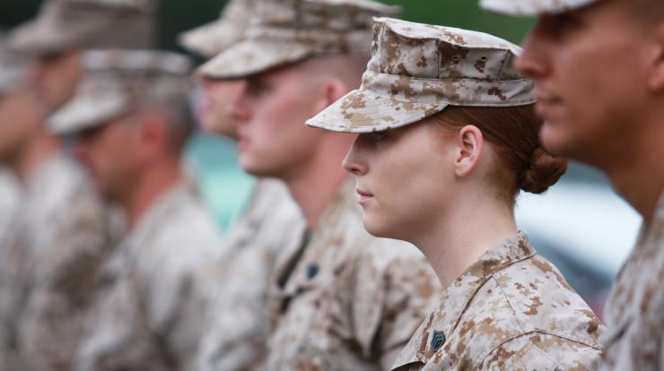 group of military members