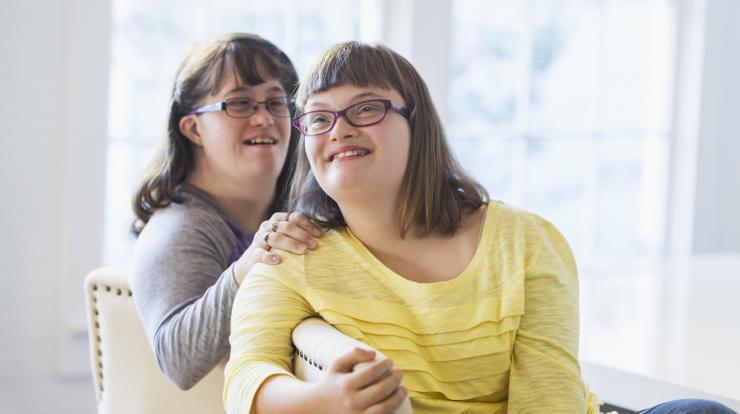 young women with developmental disabilities