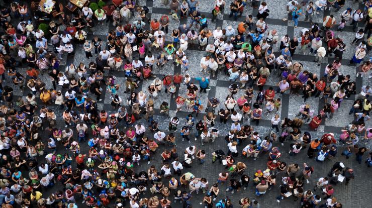 big group of people