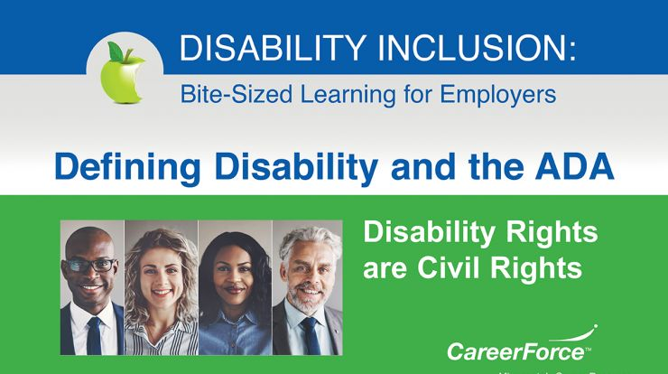 image that says Disability Inclusion and Disability Rights are Civil Rights