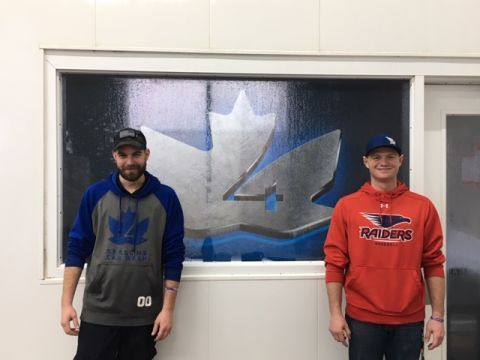 photo of Mike (left) and Zach (right) at Four Seasons Carwash in Baxter, MN