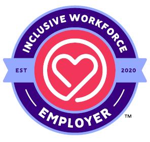 Inclusive Workforce Employer (I-WE) logo